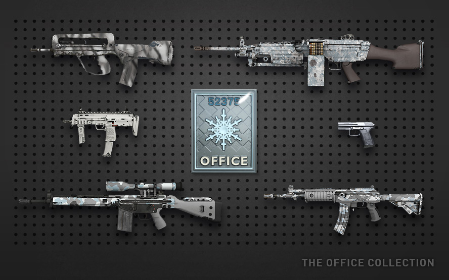 Pack skin office CSGO